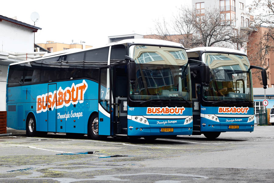 Busabout Coaches