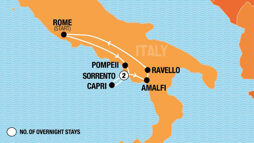 Italian Adventure - Rome Departure