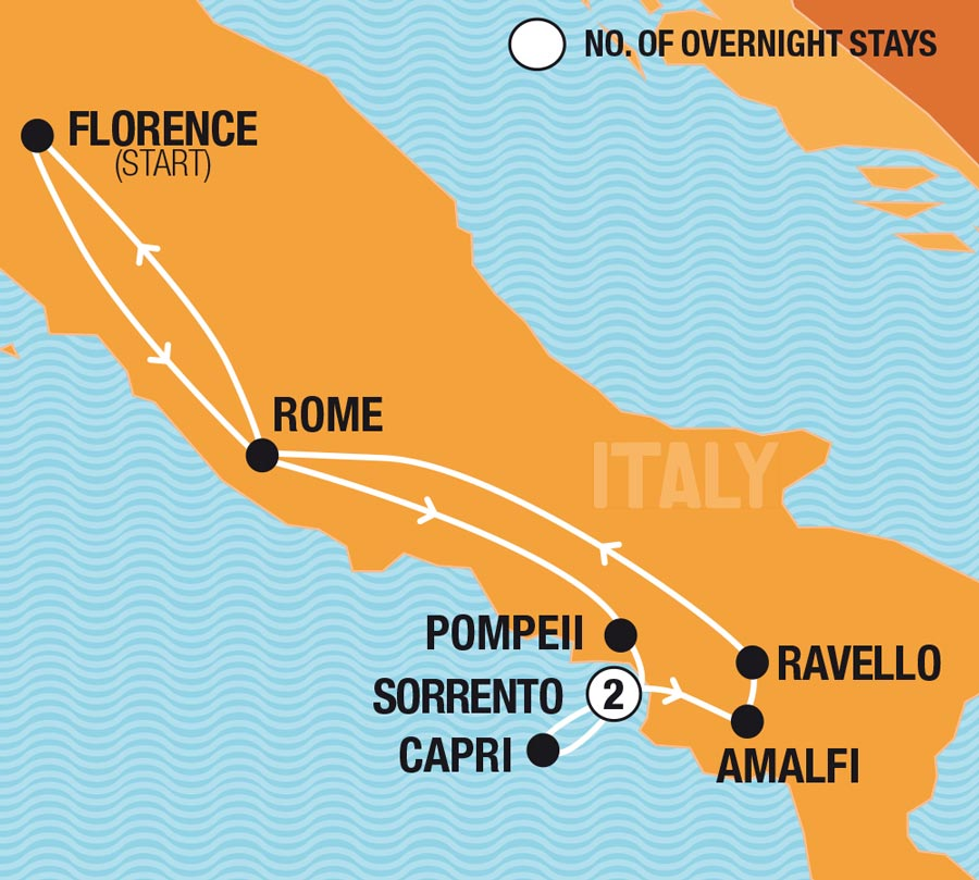 Italian Adventure - Florence Departure