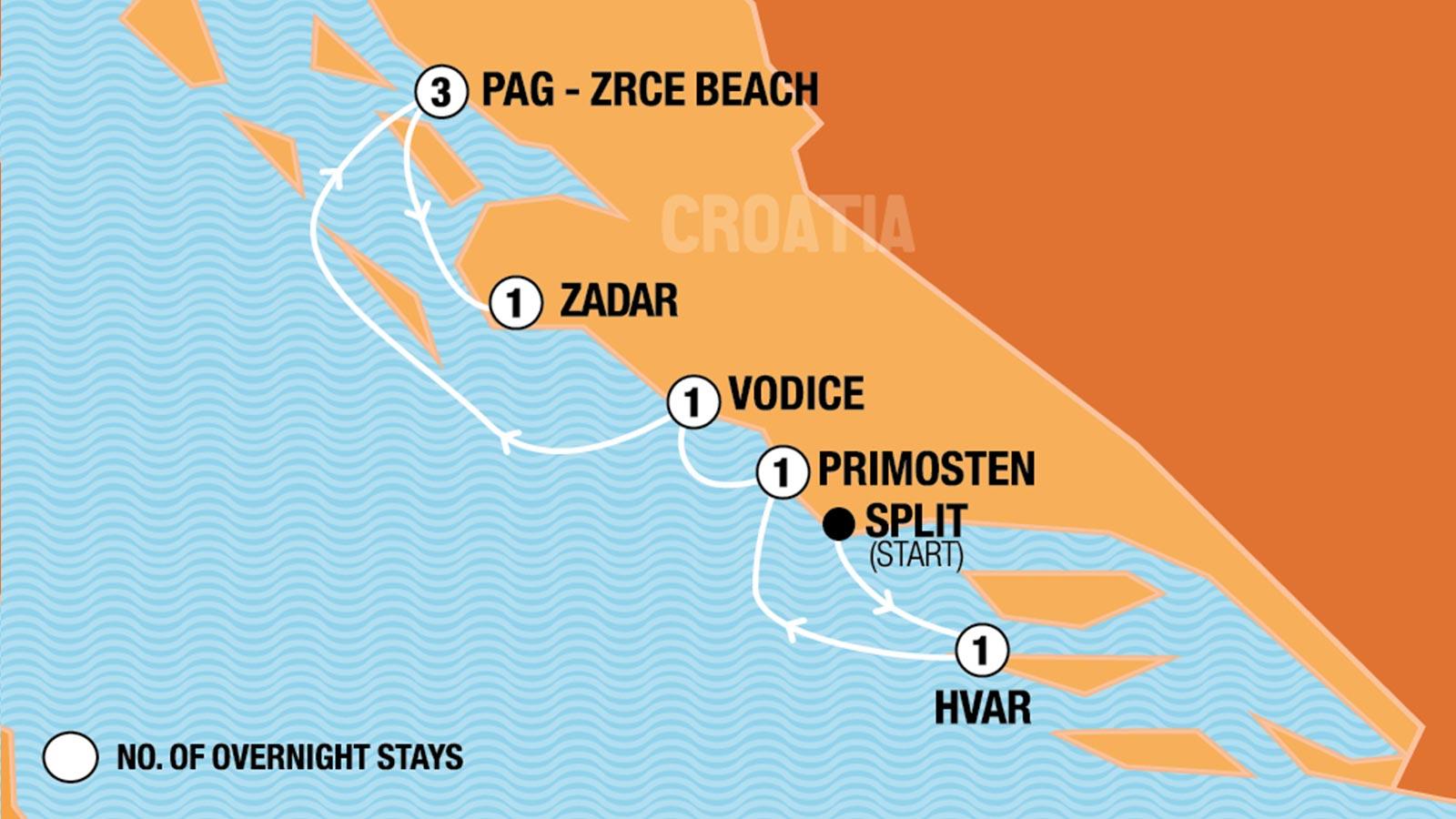 Hideout Croatia Sail